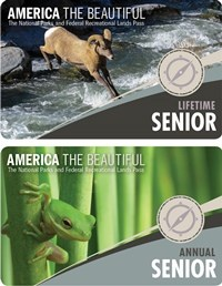America the Beautiful Senior Lifetime and Senior Annual Cards