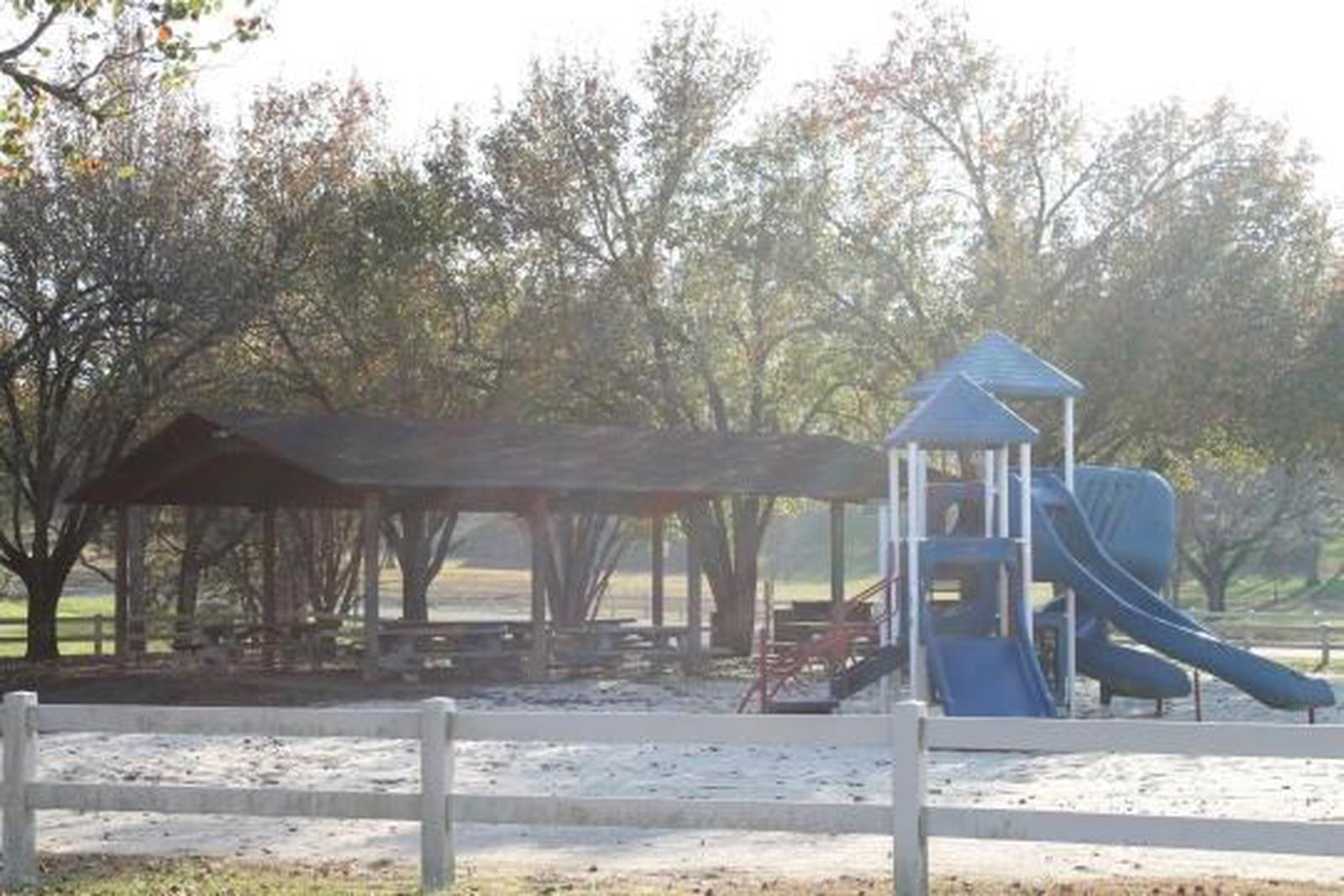 Tailwater Recreation Area Shelter and Playground