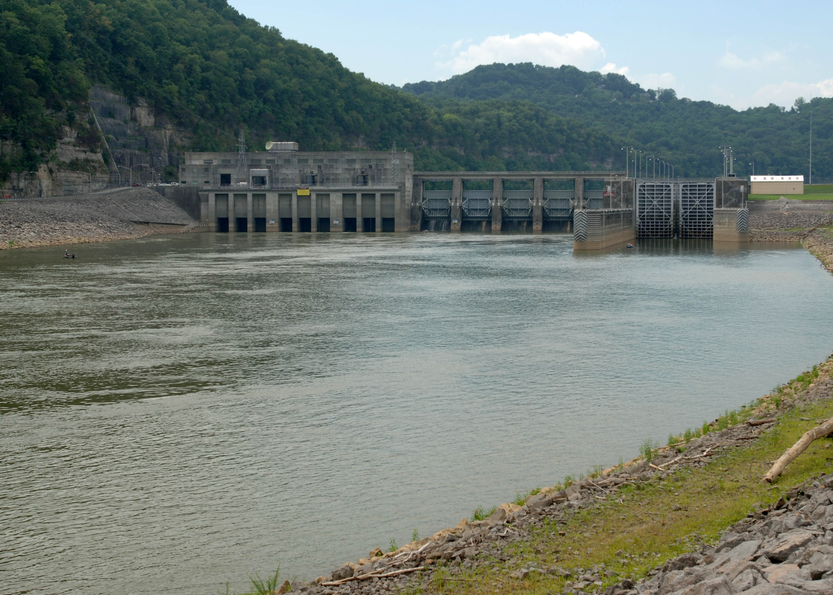 Cordell Hull Lock and Dam Project, Carthage, Tenn.