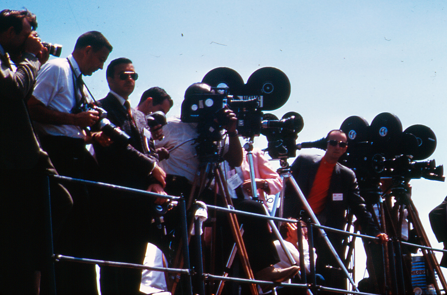 Media at dedication