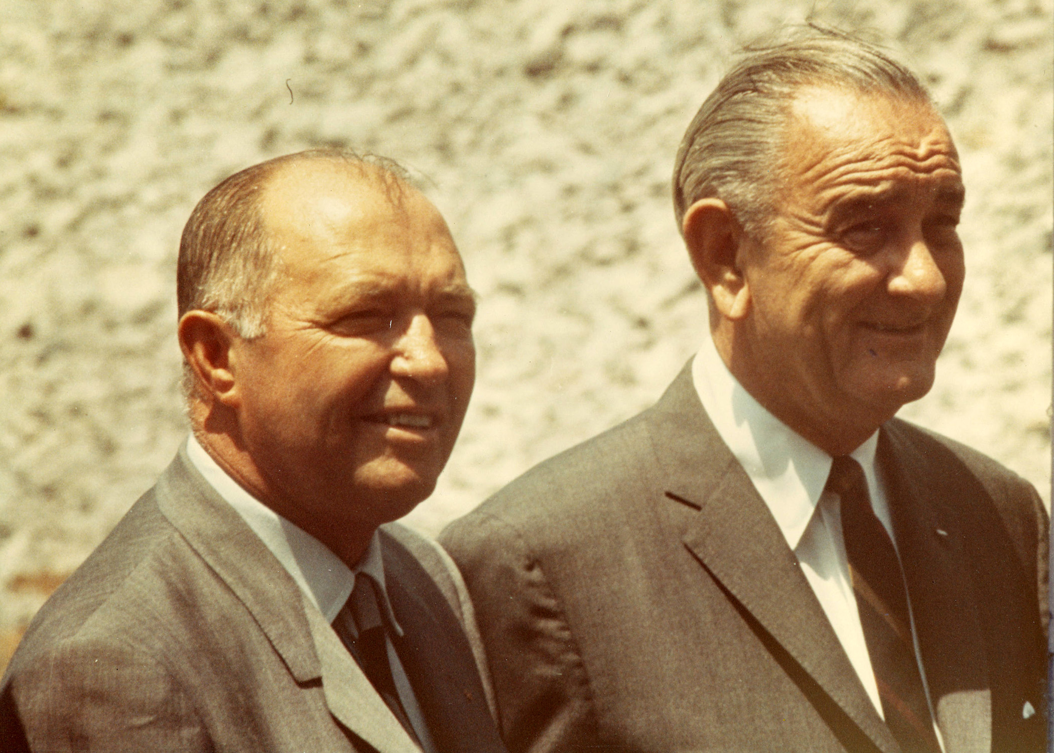 President Lyndon B. Johnson and Tennessee Gov. Ellington