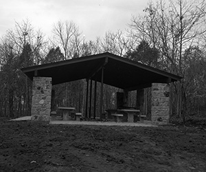 J. Percy Lake Newly Constructed Shelter