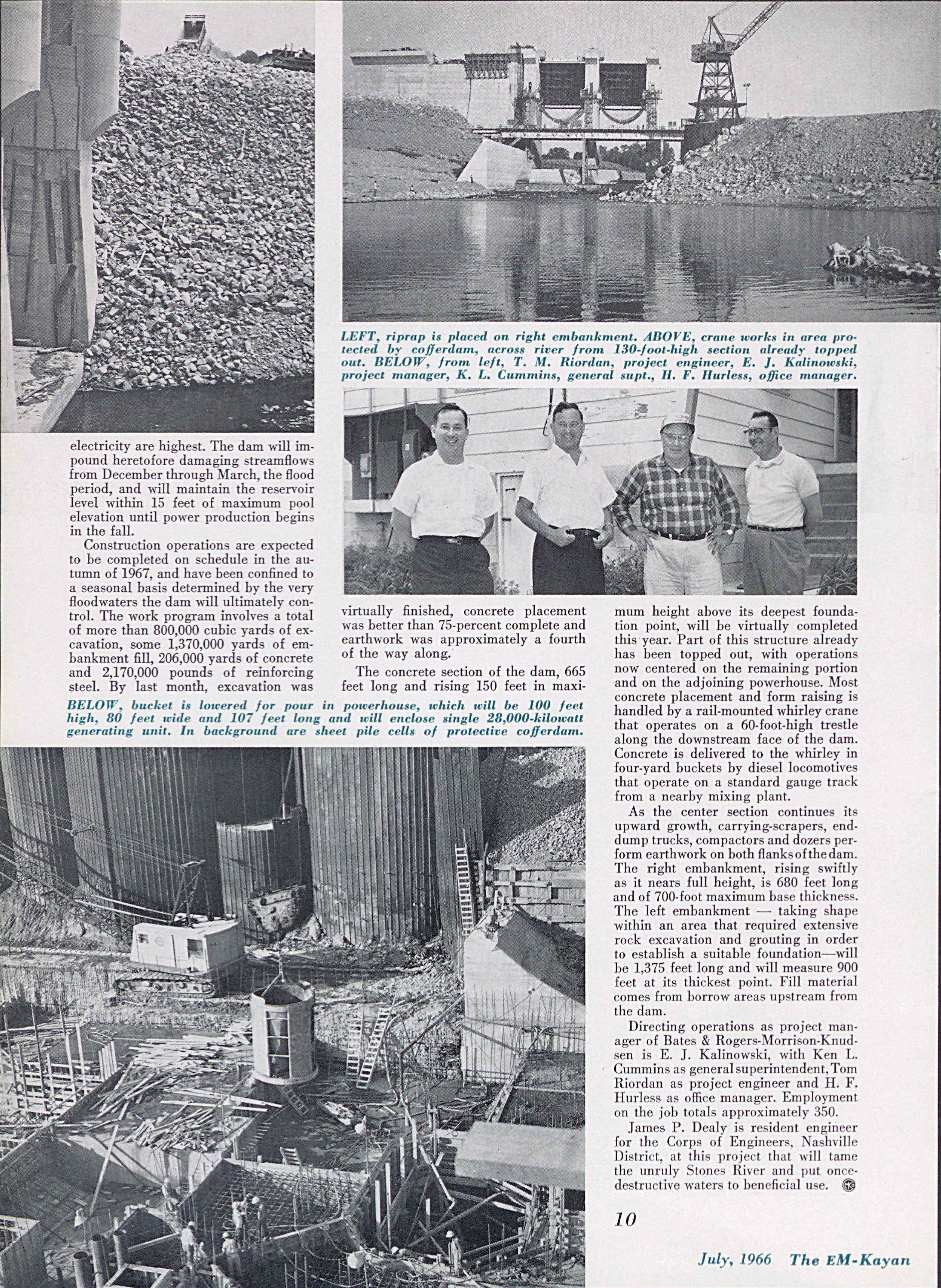 River Harness on Outskirts of Nashville Article July 1966 Page 3