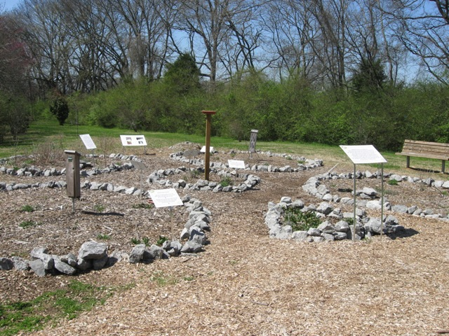 The Walton Ferry ESA, Hendersonville, Tenn. has two butterfly gardens.  One of the gardens has interpretive signs on how to build your own backyard habitat (USACE photo by Amy Redmond)