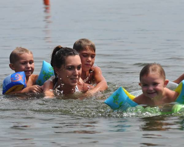 Kids Swimming In A Lake nashville district > locations > lakes > old hickory lake