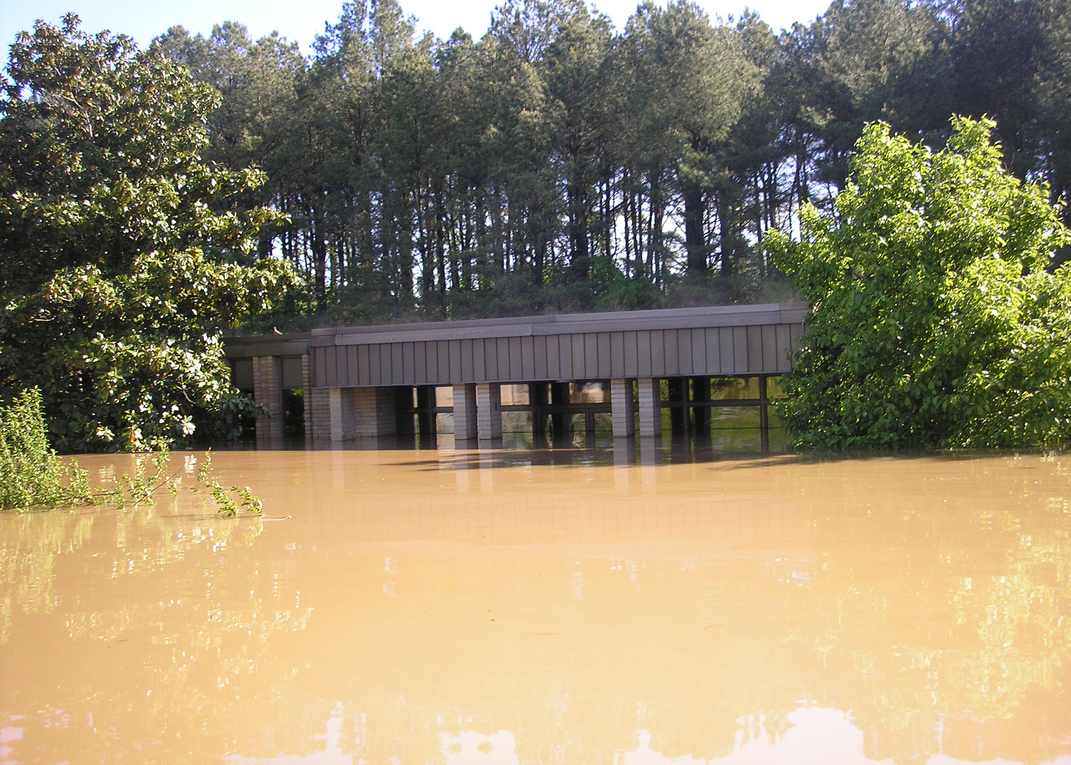 Cheatham Lake Resource Manager's Office during May 2010 Flood