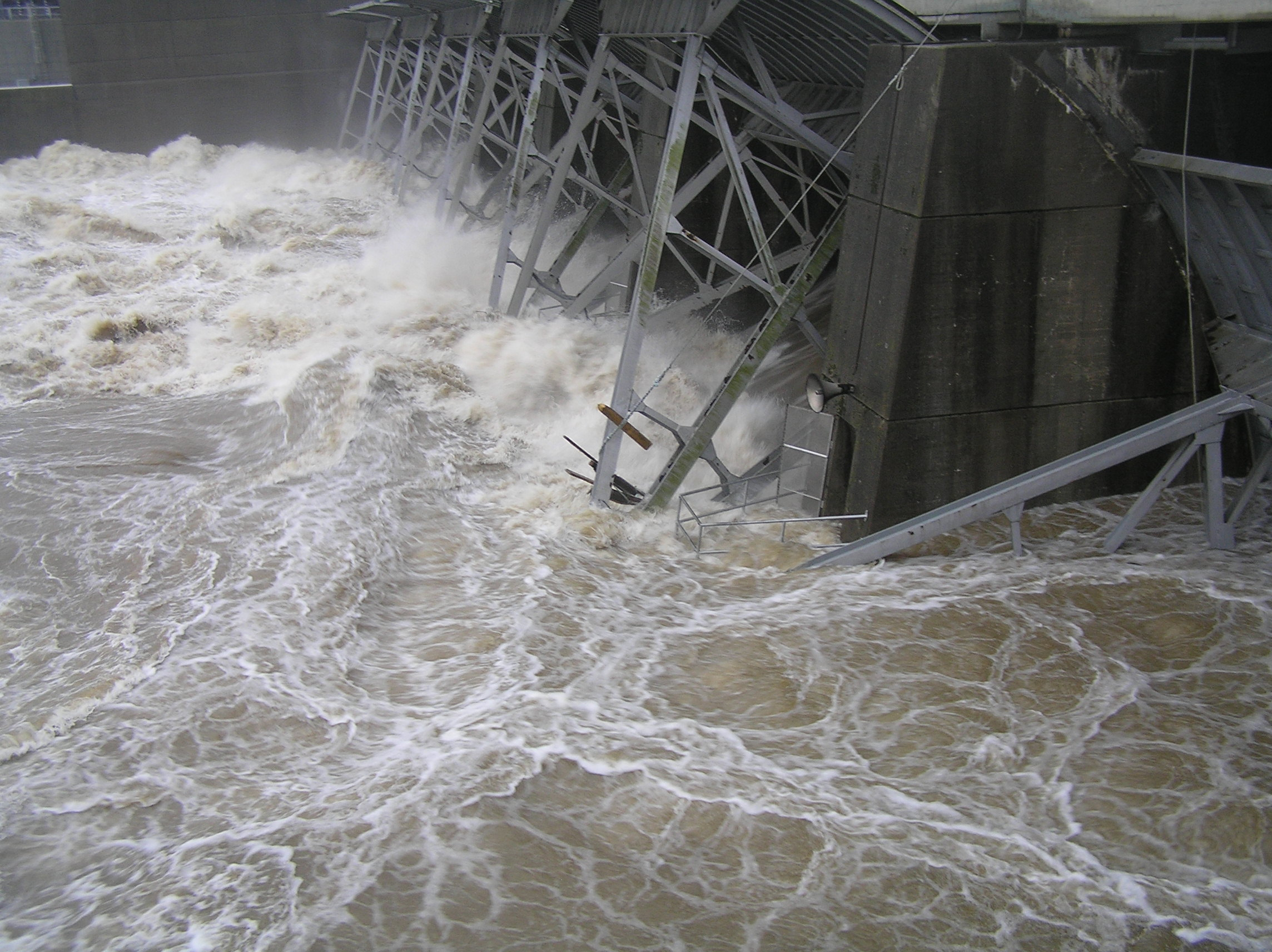 Old Hickory Dam May 2010 Flood Photo