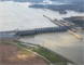 Ariel photo of Lake Barkley Lock and Dam Project, Grand Rivers, Ky. (USACE photo)