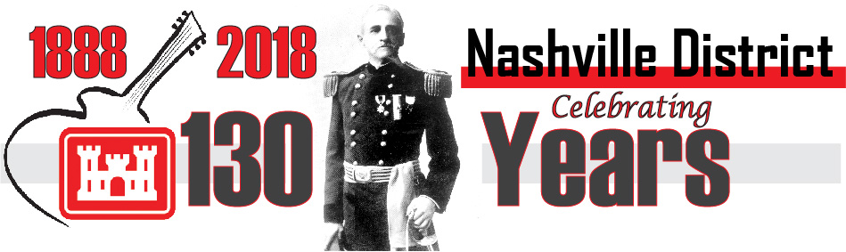 This is a banner for the Nashville District's 130th Anniversary in 2018
