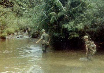Marine Sgt. Carl David Bethurum in Vietnam