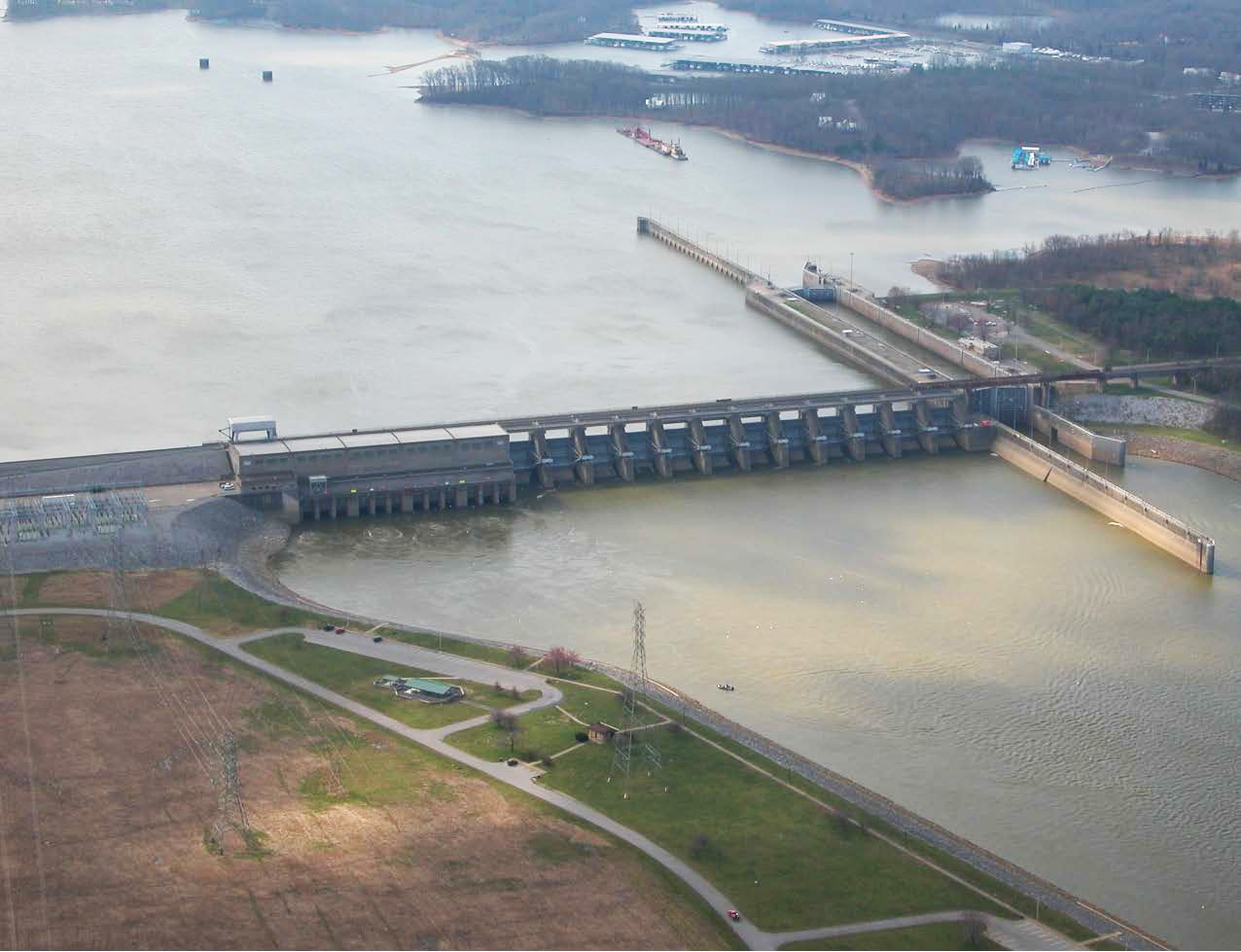 Barkley Lock and Dam Project, Grand Rivers, Ky,