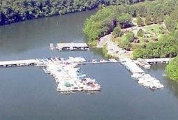 Pates Ford Marina on Center Hill Lake