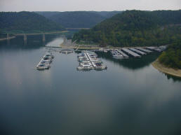 Silgo Marina on Center Hill Lake