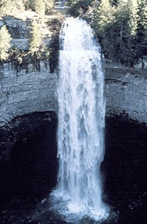 Fall Creek Falls at Center Hill Lake