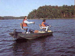 Fishing on Laurel River Lake