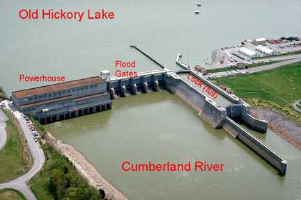 This is an aerial view of the Old Hickory site.