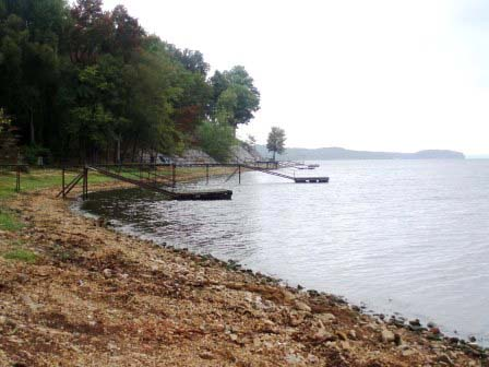 Fixed and Floating Docks along the Tennessee River at Mile 65.7,